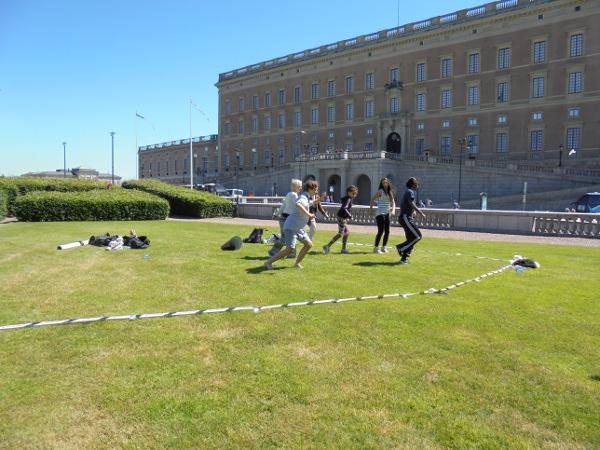 Dans vid slottet 2014