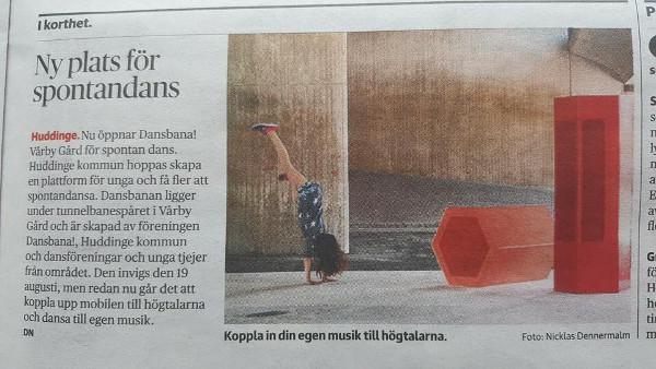 Dansbana! Vårby gård i DN